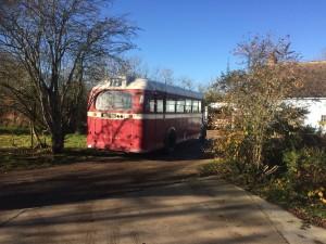 Arriving at Mill Hill Farm
